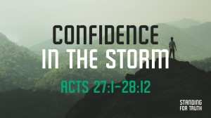 Confidence in the Storm